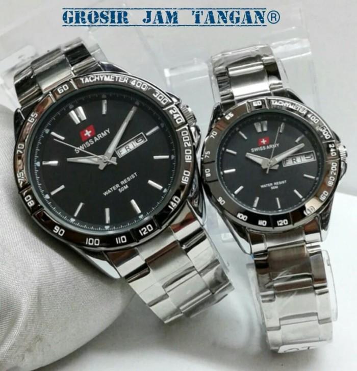 Jam Tangan Swiss Army Couple Super - Info Daftar Harga Terbaru Indonesia 544a68122c
