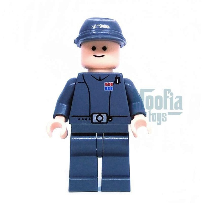 Jual Lego Minifigures Star Wars Imperial Officer Sw154 Sw Minifig