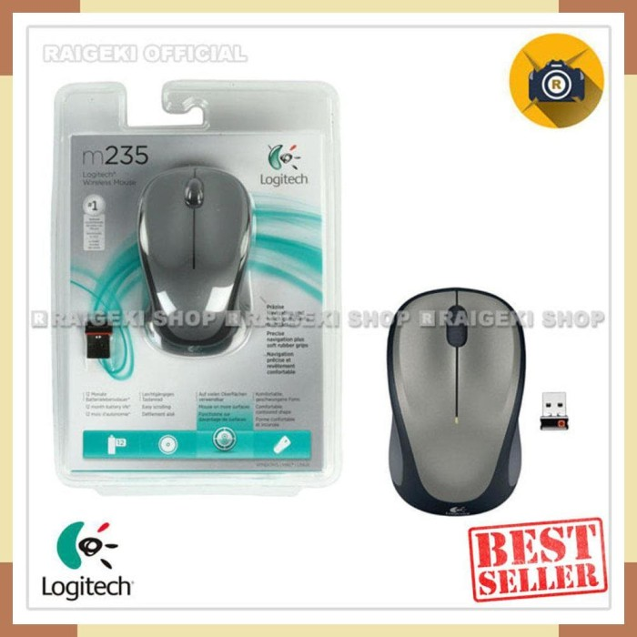 Jual BARU Logitech M235 Wireless Mouse - Original - Jakarta Utara - BOOMING  ELEKTRONIK | Tokopedia