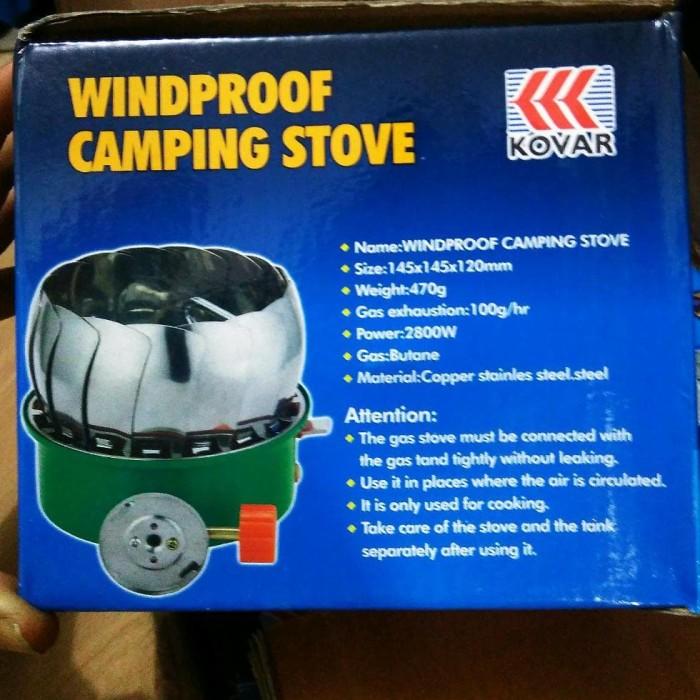 Kompor Kovar Windproof / Kompor Kembang/ Kompor Camping