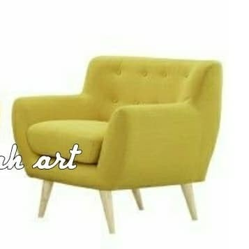 harga Sofa retro dudukan single wing chair sofa retro minimalis Tokopedia.com