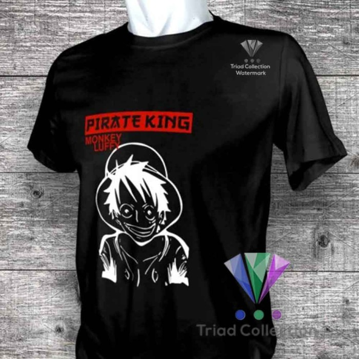 Japan Anime One Piece Luffy The Pirate King Fashion T Shirt