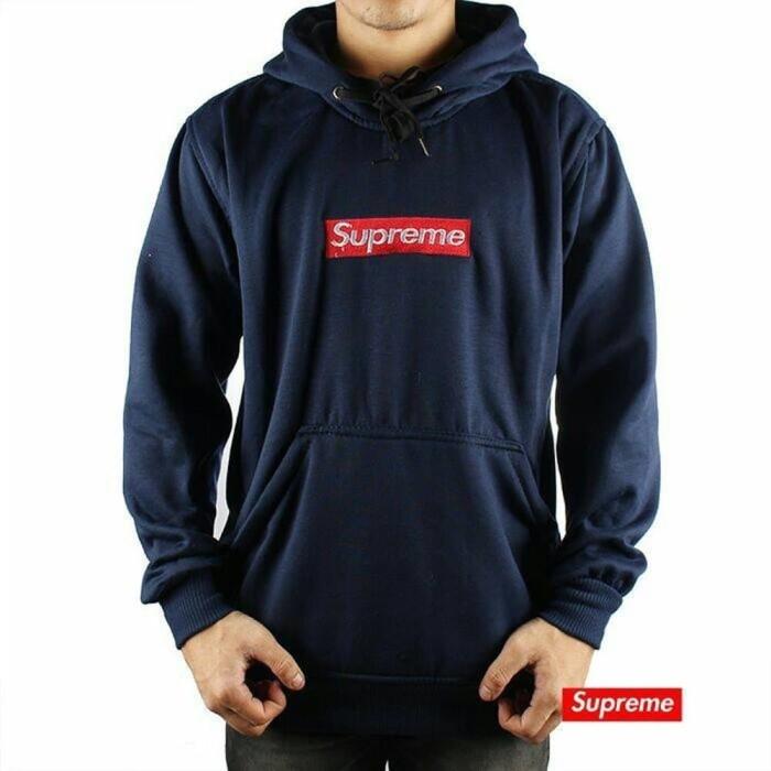 Jaket Sweater Hoodie Putih Pria Wanita Supreme. Source · Sweater Hoodie  Supreme Premium ~ Sweater 74c504a909