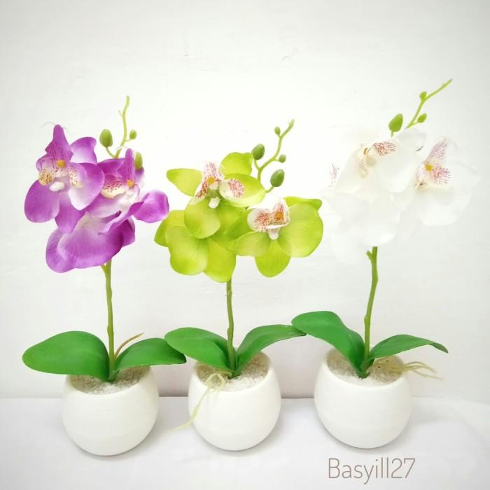 Jual bunga plastik artificial vas dekorasi cek harga di PriceArea.com 9cbf4d6af7