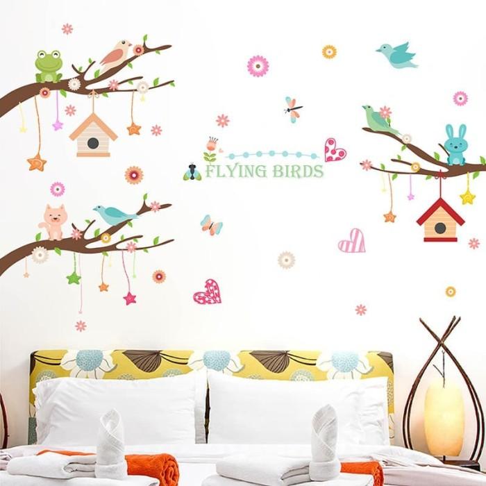 jual wallpaper dinding wall sticker wallpaper sticker motif sangkar