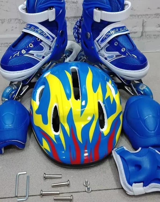 Dijual Sepatu Roda Anak Fullset (Body Protecktor +Helm)   Inline Skate c20eda4a96