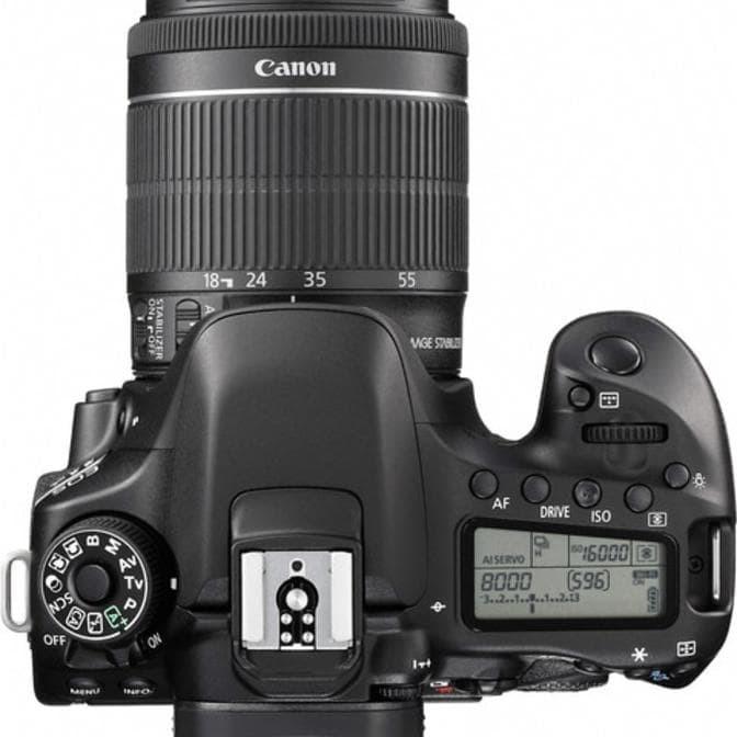 Foto Produk Camera Canon Eos 80D + Lensa 18-55 Is Stm Wifi/Dslr Canon Eos 80D Kit dari rosemarket