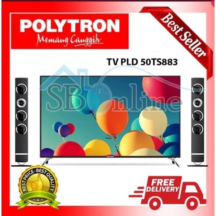 d214c0f8e64ec4 Jual PROMO Polytron LED TV Digital 50 In PLD-50TS883 Garansi Resmi ...