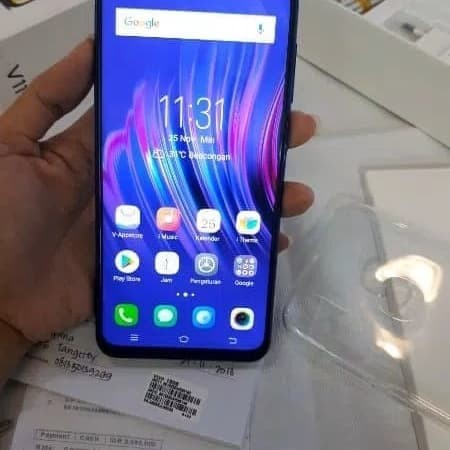Jual Hp Vivo V11 Second Warna Purple 64gb Kota Semarang Tiar123