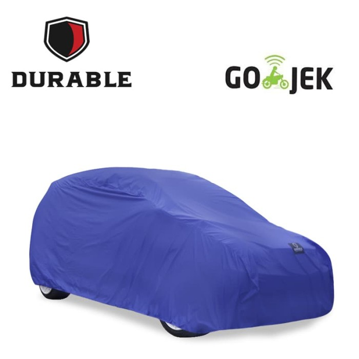 harga Kijang lgx durable premium car body cover sarung mobil blue tdc - abu-abu muda Tokopedia.com