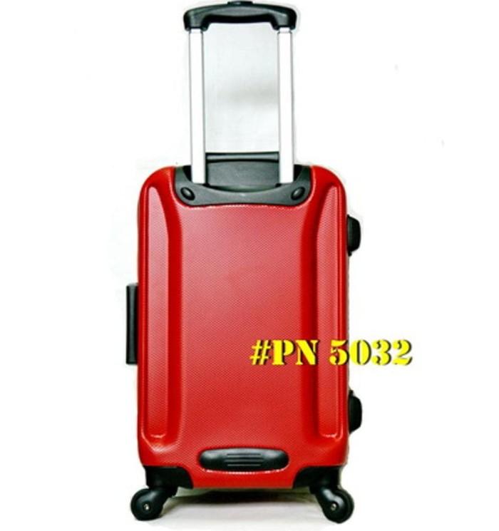 PROMO KOPER TRAVEL 20 INCHI FIBER HARDCASE MERK PRESIDENT PN 5032 !