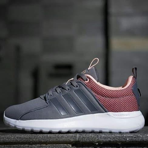 9380a61f67555 ... harga Sneakers sepatu adidas cloudfoam lite racer grey tree original  Tokopedia.com