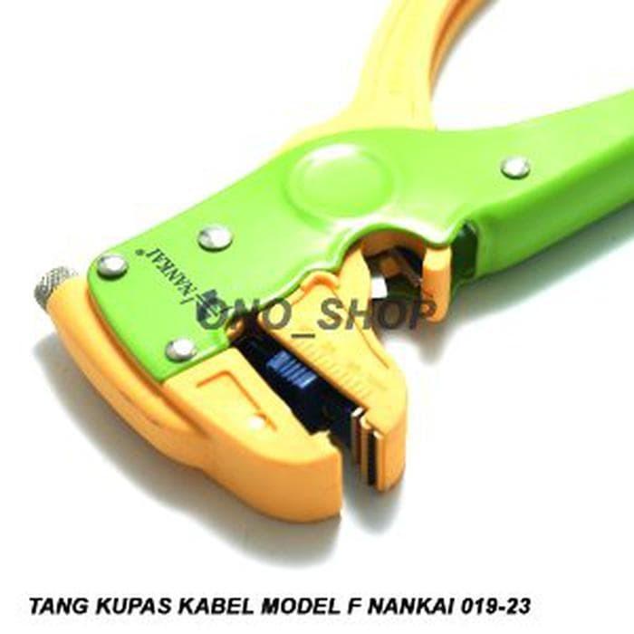 Dijual Tang Kupas Kabel Model F Nankai 019-23 Berkualitas