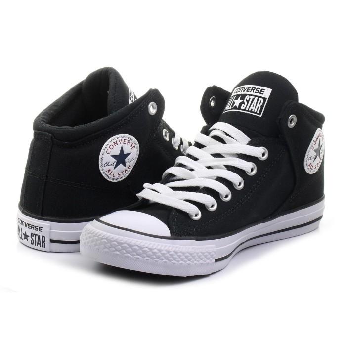 f8543048b9fd Jual Converse Ctas High Street Hi Black White - Kab. Badung ...
