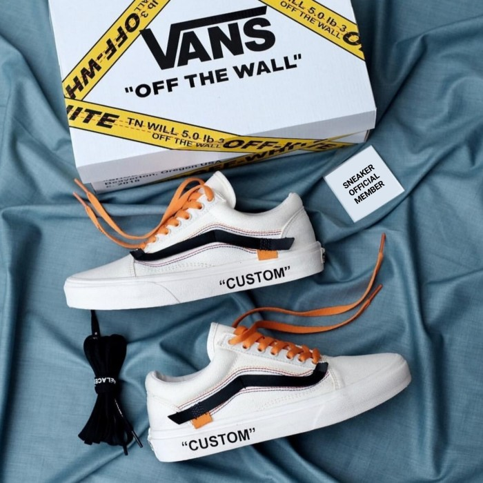 vans x off white original