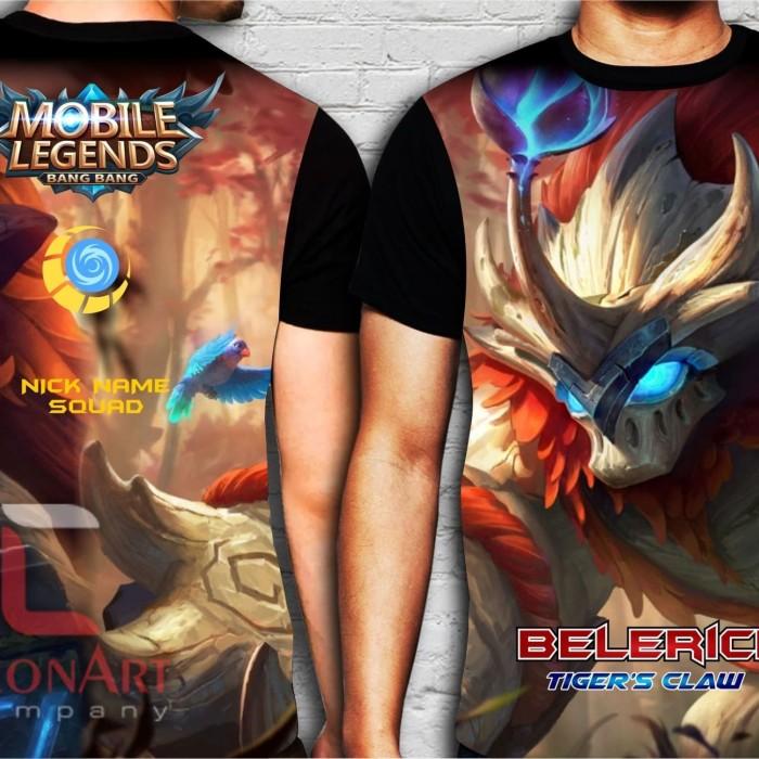 Jual Belerick Clothes Free Add Nick Name Baju Kaos Anak Mobile Legend 3 4 Tahun Hitam Kota Bandung Cyber Clothes 78 Tokopedia