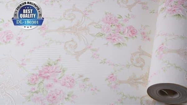 Jual Rf2 Wallpaper Dinding Shabby Putih Cantik Kota Tangerang