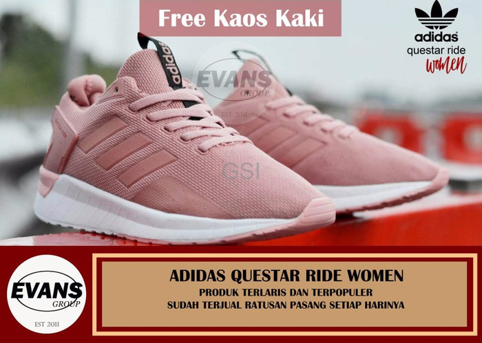 Jual SEPATU ADIDAS QUESTAR WOMEN BARU IMPORT - SFC Shoes  cf79907a1c
