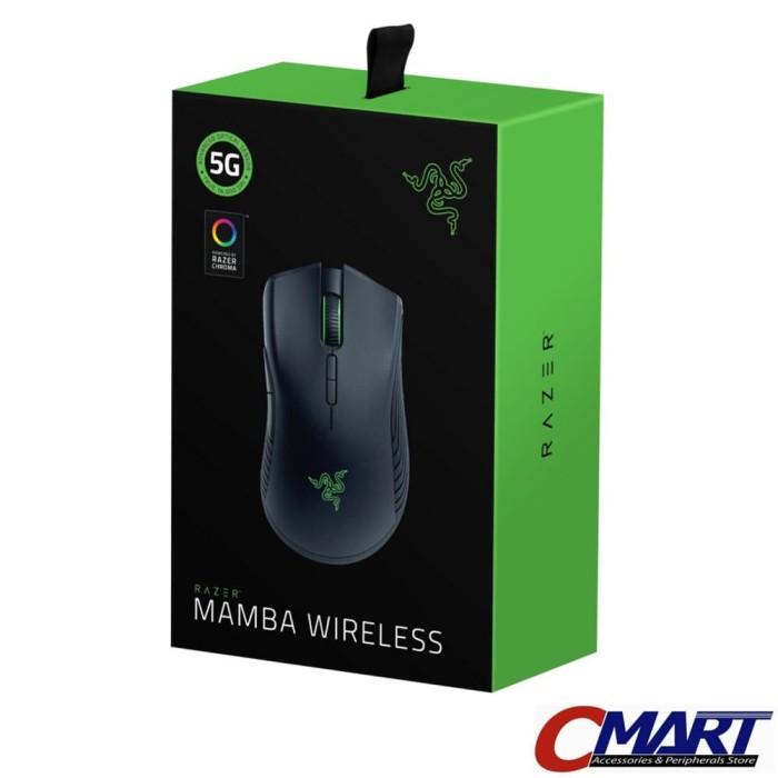fc85c3773ba Razer Mamba Chroma Wired Wireless Ergonomic Gaming Mouse RZ01-02710100