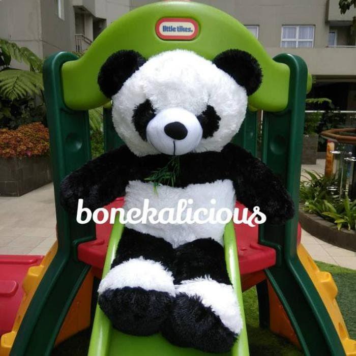 Boneka panda rumput raksasa super besar jumbo 200cm 2m 2 meter 932ef342cb