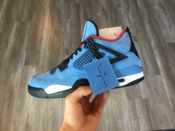 Jual Nike Air Jordan 4 Retro Travis Scott Cactus Jack Kota