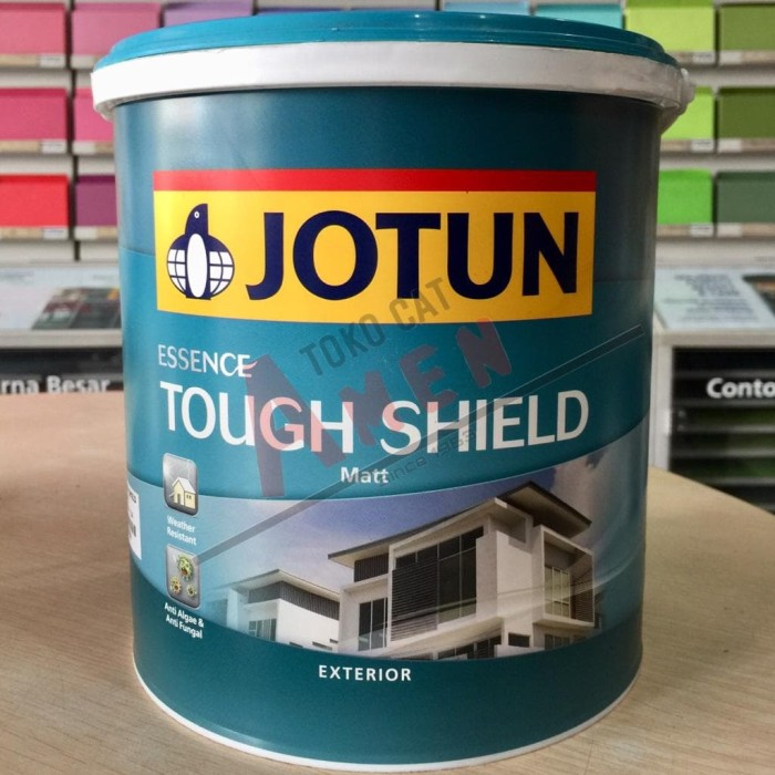 harga Jotun essence tough shield 3.5lt - light mocha / cat tembok eksterior Tokopedia.com