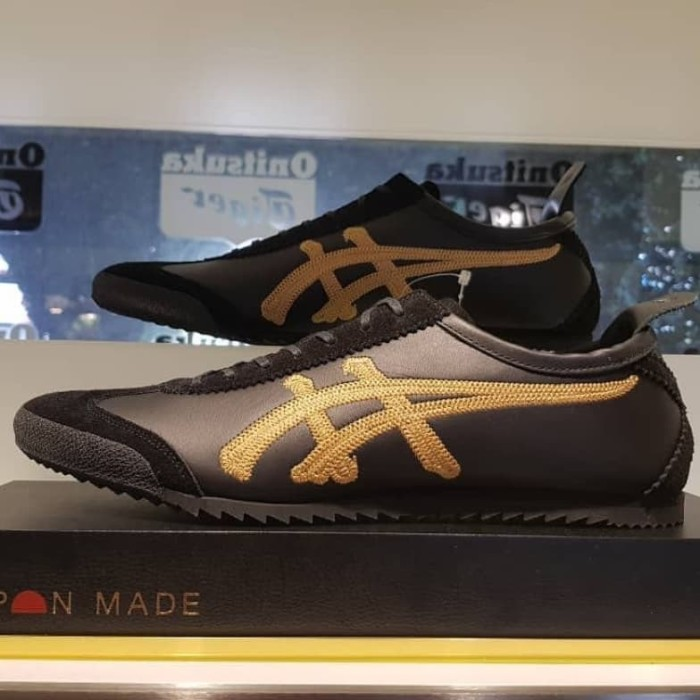 new concept 13b6c 8e963 Jual Onitsuka Tiger Mexico 66 Deluxe Japan Black Gold - DKI Jakarta - redy  sneakers | Tokopedia