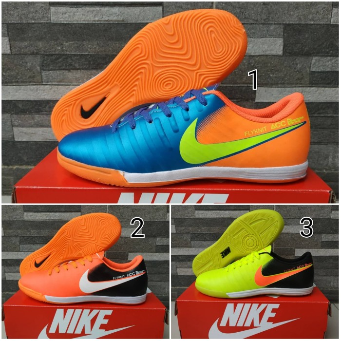 size 40 b5bc0 97f94 Jual Sepatu Olahraga Futsal Nike Tiempo Flyknit Acc Import - Kota Bandung -  WNG Store | Tokopedia