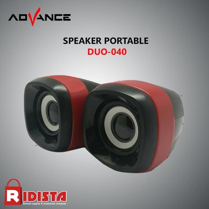 Speaker Advance Multimedia 2.0 Duo-040 XTRA POWER SOUND T415 - Ungu