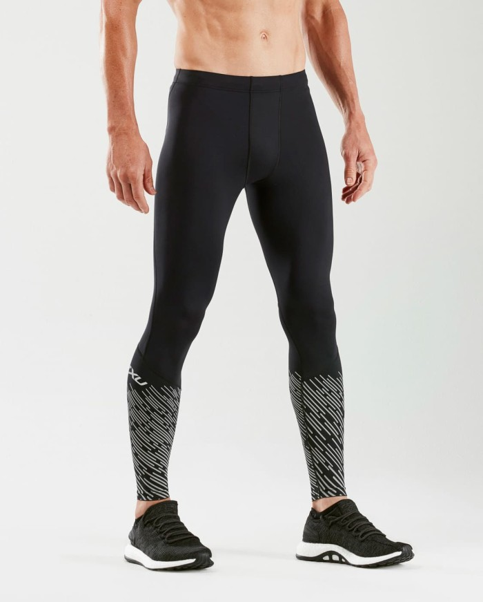 harga 2xu men's reflect compression tights with back storage [ma5363b] - perak s Tokopedia.com