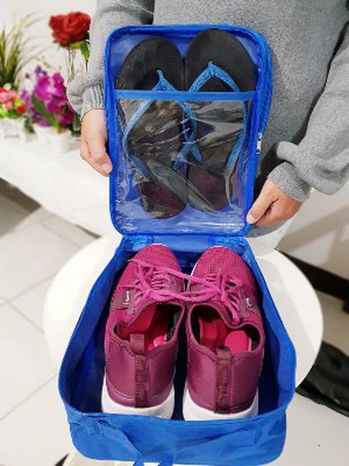 Jual Tas Cover Sarung Sepatu Sendal Olahraga Futsal Bola Fitness Gy ... 42e33f5579