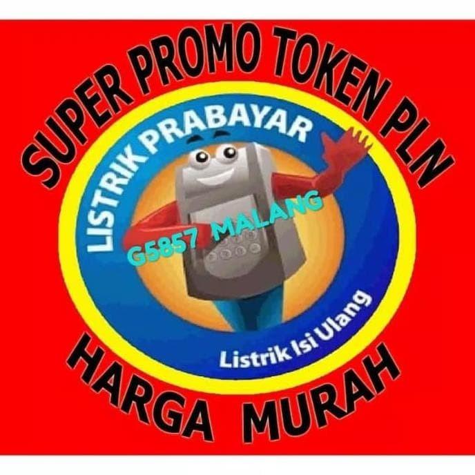 Promo Pulsa Pln / Token Listrik 100 Rb,100000,100 K .