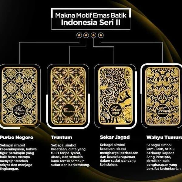 Jual Logam Mulia Emas Antam Seri Batik 2 Toko Mas Siola Tokopedia