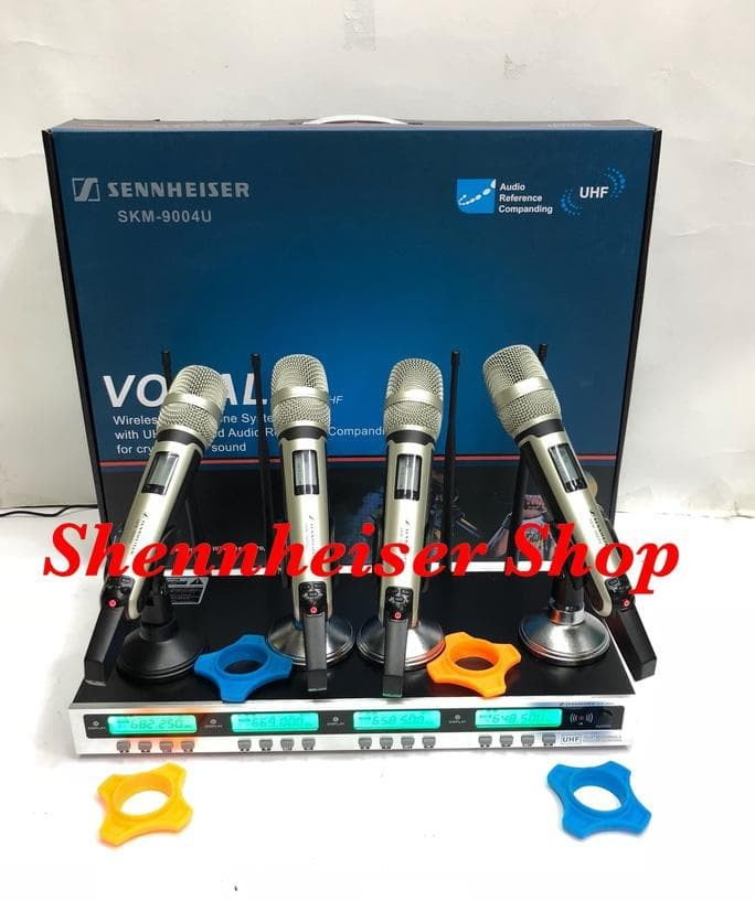 Foto Produk Mic Wireless Sennheiser Skm 9004 U 4 Channel Wireless Microphone Pll dari dena-dena