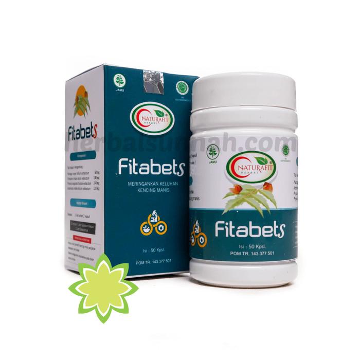 Foto Produk Kapsul Fitabets Naturafit, Obat Herbal Diabetes / Kencing Manis dari Pusat Herbal Sunnah
