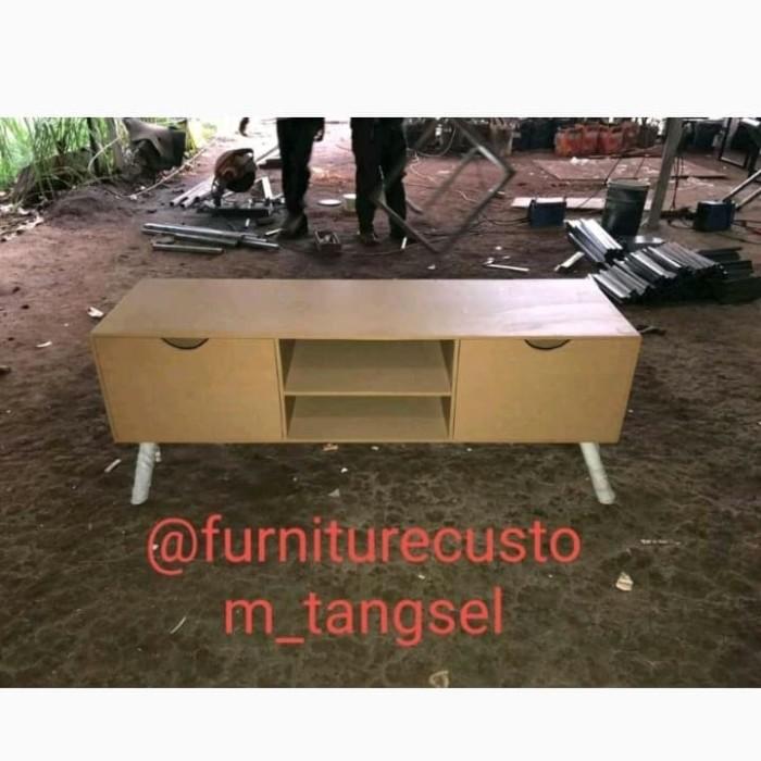 Jual Buffet Minimalis Buffet Tv Buffet Ruang Tamu Abu Abu Tua Kota Tangerang Selatan Tangselcustom Furniture Tokopedia