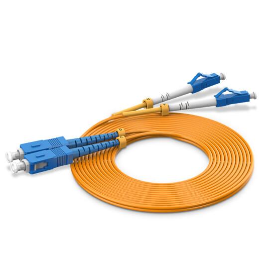 harga Vention igf 3m kabel fiber optic patch cord lc sc duplex single mode Tokopedia.com