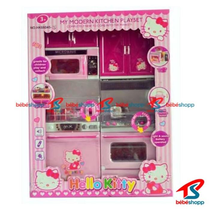 HELLOKITTY - Mainan Dapur Hello Kitty. Modern Kitchen Set