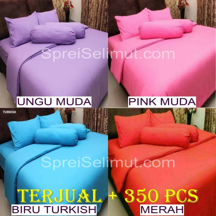 Jual Bed Cover Set Polos Rosewell Uk King Queen Harga Reseller
