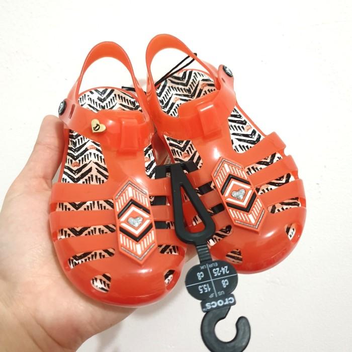 79a9df2c7920 Sepatu Sandal Anak Crocs Kids Drew X Barrymore Isabella Original - C8