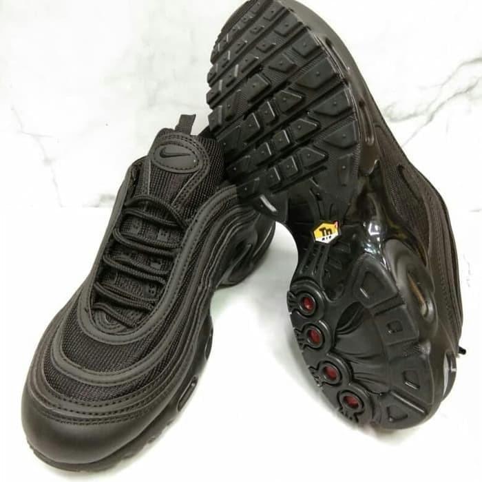 6abe7b5894 Jual Nike Airmax 97 VM Triple Black size 40-45 (premium) - DKI ...