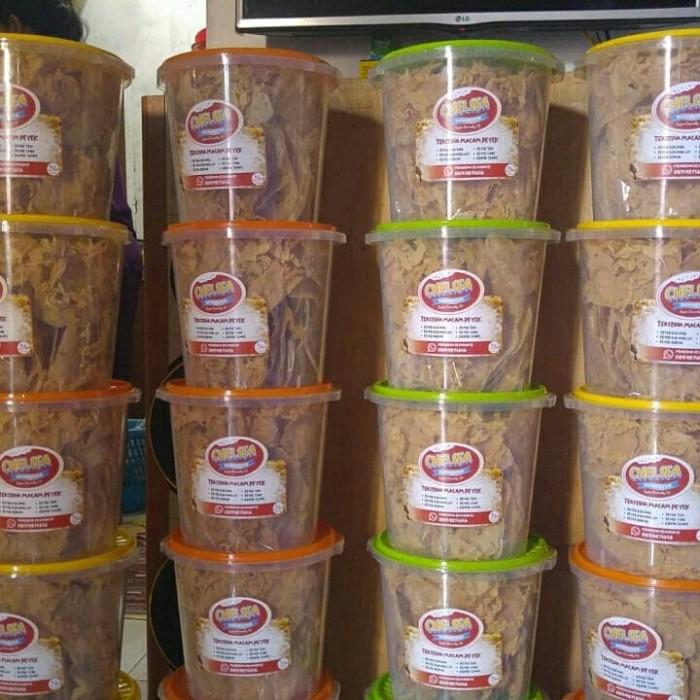 Foto Produk aneka peyek teri/kacang/rebon/cabe - Peyek Cabe dari toko cemilan rafiqi