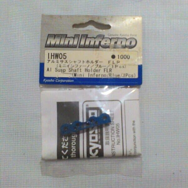 KYOSHO IHW05 Aluminium Suspension Shaft Holder FLR Mini Inferno
