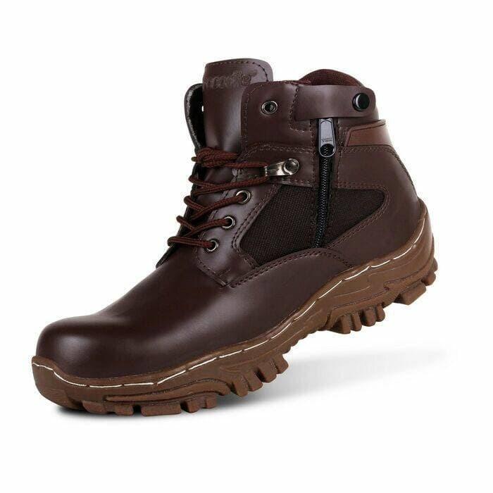 Jual sepatu boots safety pria crocodile cordura -  4ebd820f7e