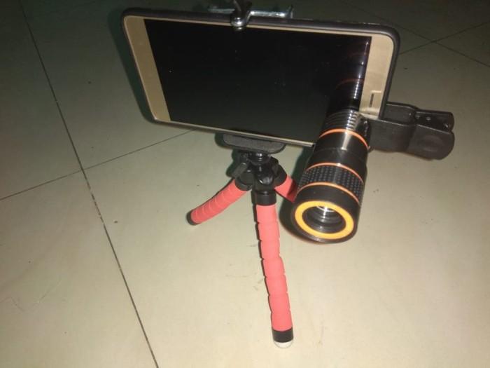 harga Tripod spiderman & telezoom 1 paketan murah Tokopedia.com