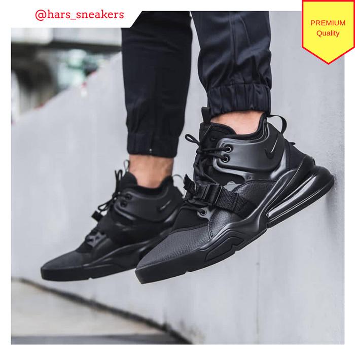 Jual Sepatu Nike Airforce 270 Triple Black Premium Quality - Kota ... b4f294303
