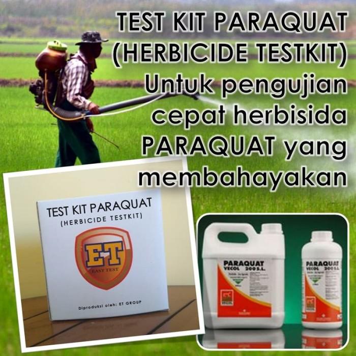 Foto Produk Test Kit Paraquat - Herbicide Testkit - Teskit or Tes Cepat Herbisida dari easytest