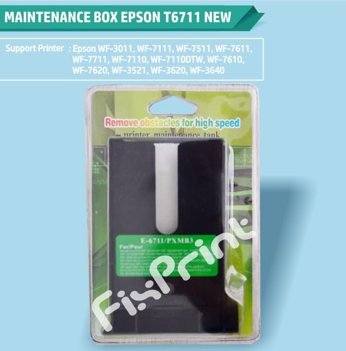Jual Maintenance Box T6711 E-6711 PXMB3 Reset Printer Epson L1455 WF7611 -  Kota Surabaya - FixPrint Store | Tokopedia