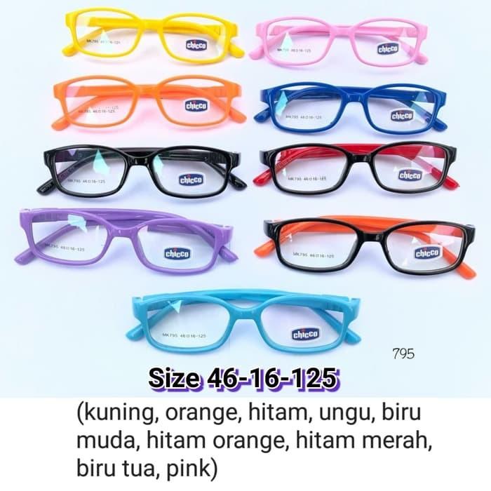 Jual frame Kacamata anak 795 warna warni Kacamata Kids kacamata Gaya ... 168db7dde0