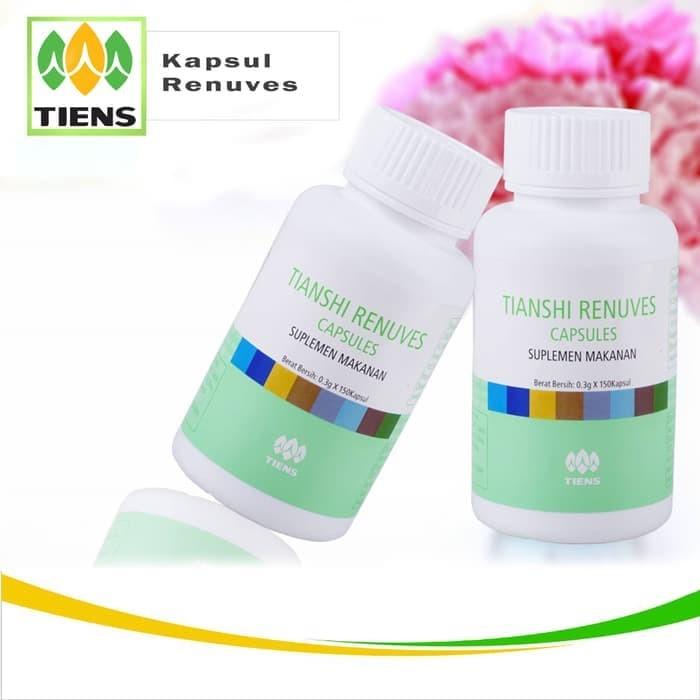 Jual Renuves Tiens Obat Alami Insomia Vitamin Mata Pemutih Kulit